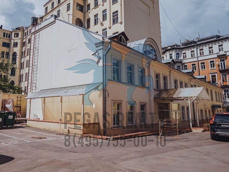 Аренда офиса 40 кв Уланский переулок Коммерческая недвижимость Очаковская улица